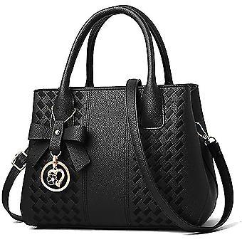 Black purses hbags for women fashion ladies leather top hle dt6687