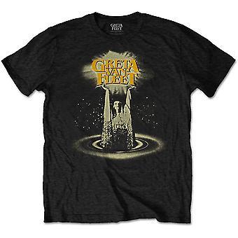 Greta Van Fleet - Cinematic Lights Men's Large T-Shirt - Black