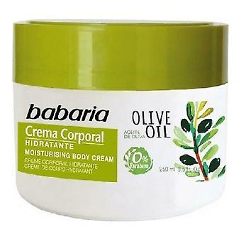 Crema Corporal Babaria Oliva (250 ml)
