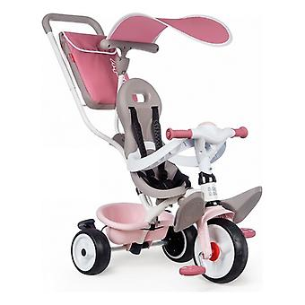 Tricycle Smoby Baby Balade Plus 3-in-1 Pink (68 x 52 x 101 cm)