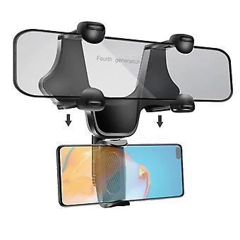 Rétroviseur de voiture support de téléphone mobile support gps 4.0-6.2 pouces
