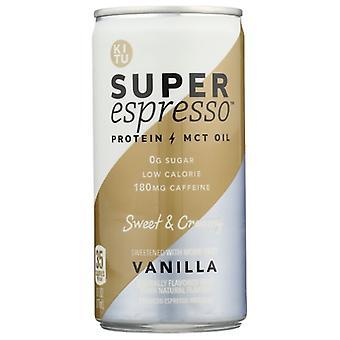 Kitu Espresso Vanilla Super, Etui o wysokości 12 x 6 oz