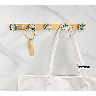 Nordic Style/Marble Pattern+Solid Brass Hook