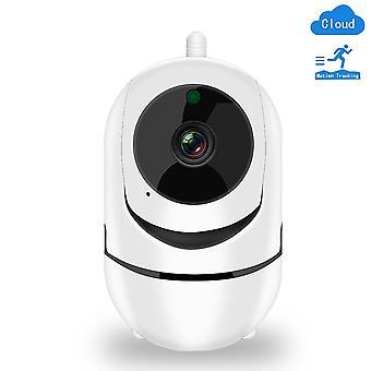 كاميرا IP اللاسلكية 1080p الأمن المنزلي واي فاي سحابة sd كاميرا السيارات الذكية تتبع الأشعة تحت الحمراء الرؤية الليلية في اتجاهين مراقبة الدوائر التلفزيونية المغلقة الصوت