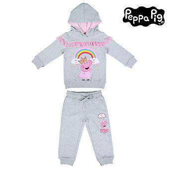Children's Tracksuit Peppa Pig Grey