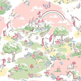 Cath Kids Multi Coloured Nature Wallpaper