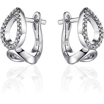 Gisser Jewels Örhängen I04E005 - Gerhodineerd sterling silver