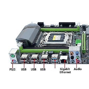 F19e x79t lga 2011 cpu computer moederbord ddr3 desktop pc moederbord met 4 kanaals