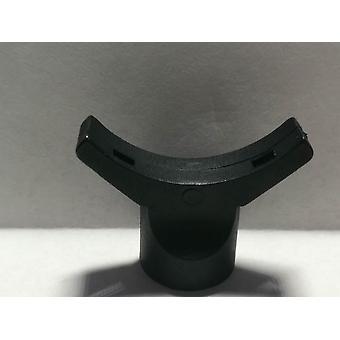 Musta mikrofonikapselin kiinnityssatu