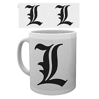 Death Note L Mug
