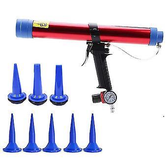 Glue guns pneumatic guns set air press tool 600ml size red color building decoration fish tank solar energy