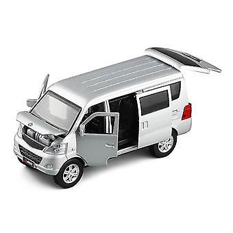 Toy cars 1/32 changan star minivan model toy car die cast sliding door sound light toys vehicle