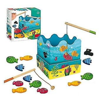 Puppets marionettes fishing game with fish 3+ years