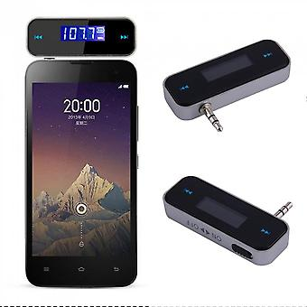 Mini Car Fm Transmitter Kit Music 3.5fm With Usb Cable For Mobile Phones Sf1