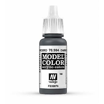 Vallejo Model Color 17ml Acrylic Paint - 994 Dark Grey