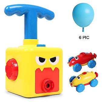 Swotgdoby Aerodynamische Auto Speelgoed, Balloon Racer Car Toy, Ballon Aangedreven Launch Car