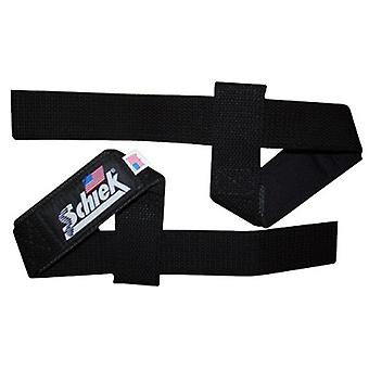 "Schiek Sports Model 1000-BLS2 Extra-Wide 20"" Basic Lifting Straps - Black"