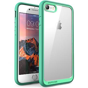 iPhone 7 Case, SUPCASE,Unicorn Beetle Style, Hybrid Protective Clear Bumper Case, Scratch Resistant-Green