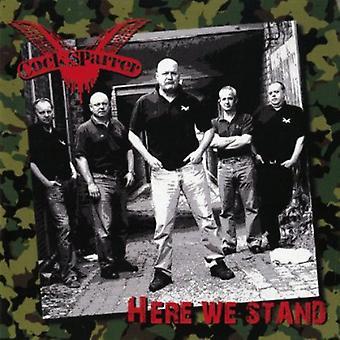 コック Sparrer - ここで我々 スタンド [CD] アメリカ インポートします。