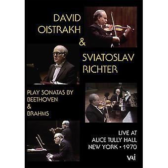 David Oistrakh & Sviatoslav Richter [DVD] USA import