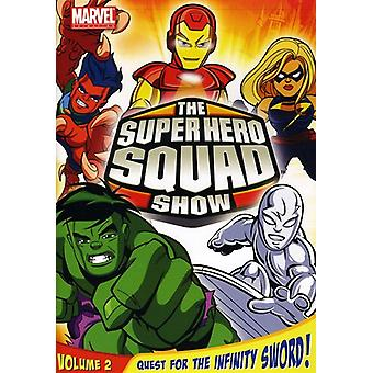 Super Hero Squad Show Vol. 2-Quest für den Infinity Schwert [DVD] USA import