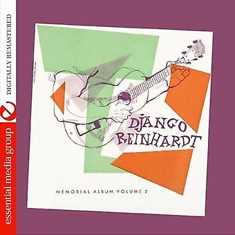Django Reinhardt - Django Reinhardt: Vol. 2-Memorial Album [CD] USA import