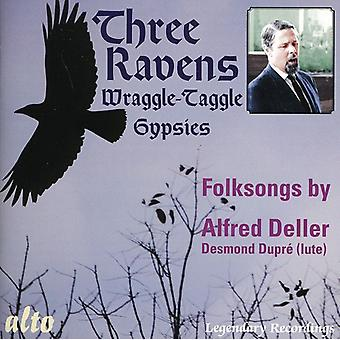 A. Deller - Three Ravens / Wraggle-Taggle Gypsies [CD] USA import