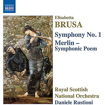 Brusa / Royal Scottish National Orchestra / Rustio - œuvres orchestrales 3 [CD] USA import