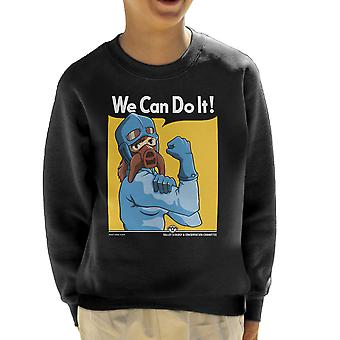 Protect The Valley Nausicaa of the Valley of the Wind Kid's Sweatshirt