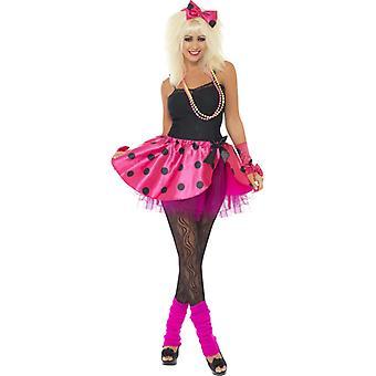Ballerina Tutu danseres kostuum roze dames 4-delig