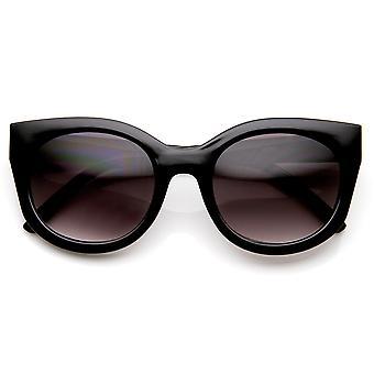Odzież Retro mody odważne wysoki Świątynia kot okulary przeciwsłoneczne