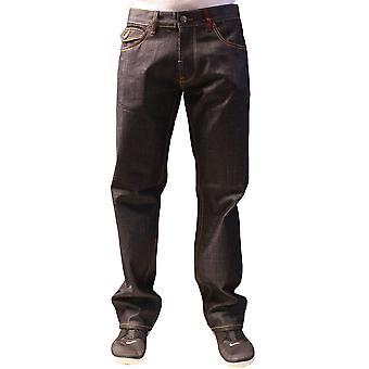 Lrg Creative uniform Co Flap pocket True Straight Jeans Raw Dark Indigo