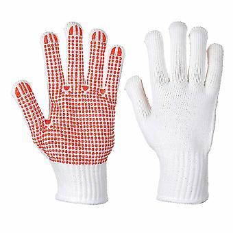 sUw - deber lunares pinza de calor resistir guantes para trabajo pesado (Pack de 12 pares)