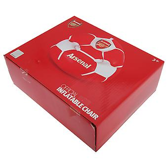 Arsenal FC Childrens/Kids Official Football Club opblaasbare stoel