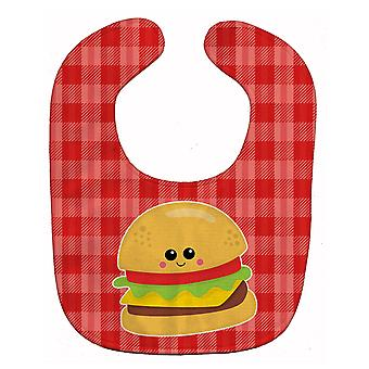 Carolines Treasures  BB7042BIB Hamburger Face Baby Bib
