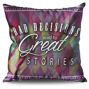 Great Stories Linen Cushion 30cm x 30cm | Wellcoda