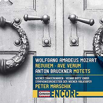 Bruckner / Mozart / Cencic / Ragin /Marschik - Mozart: Requiem & Ave Verum / Bruckner: Motets [CD] USA import