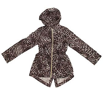 Dappere ziel Childrens/meisjes Safari Full Zip Parka jas