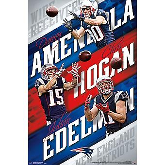 New England Patriots - Wide Receiver Poster drucken