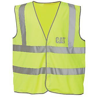 Caterpillar C1322024 HI VIS VEST / Mens Workwear