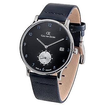 Carl of Zeyten men's watch wristwatch quartz Furtwangen CVZ0018BKBL