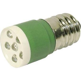 CML LED-merkki valo E14 vihreä 24 V DC, 24 V AC 3150 MCD 18646351
