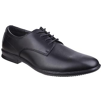 Hush Puppies Mens Cale Oxford Plain Toe Leather Shoes