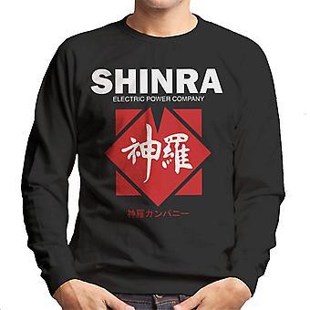 Shin-Ra Electric Power Company Final Fantasy VII Herren Sweatshirt