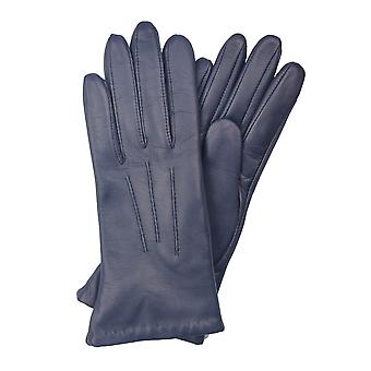 Becky Classic Leather Gloves in Blue
