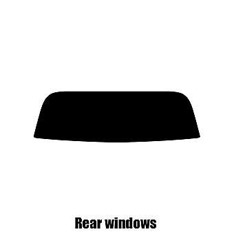 Pre cut ikkunasävy - Honda S2000 - 2000-2006 - takaikkunat