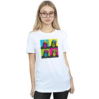 Notorious BIG kvinders popkunst Crown kæreste Fit T-Shirt