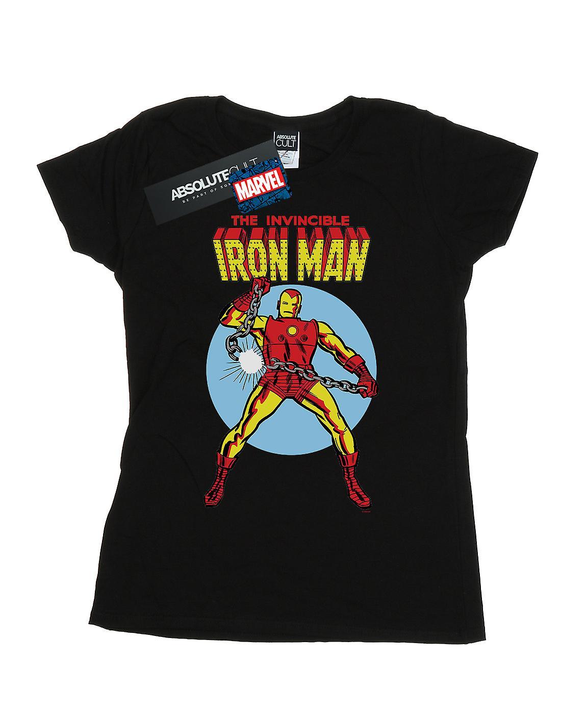 Marvel Women's The Invincible Iron Man T-Shirt