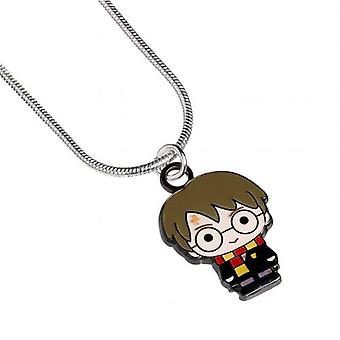 Harry Potter Silver Plated náhrdelník Chibi Harry