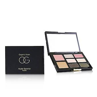 The Organic Pharmacy Organic Glam Nude Sparkle Palette - 9.2g/0.32oz